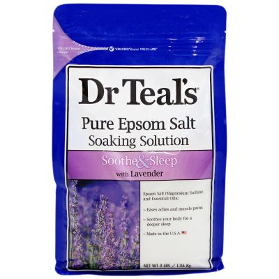 Muối Epsom Dr Teals Lavender - Soothe and Sleep