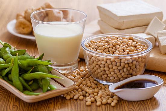 Thực phẩm bổ sung collagen - Đậu nành