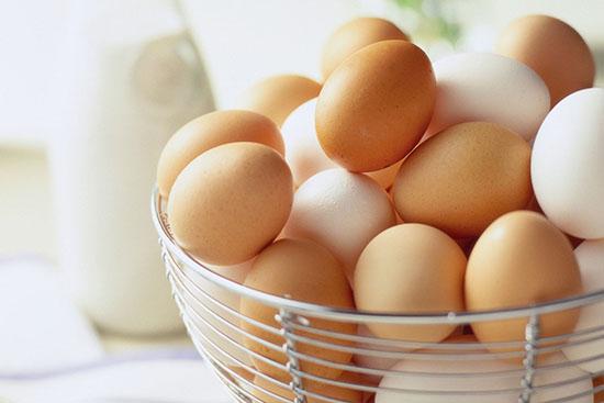 Thực phẩm bổ sung collagen - Trứng
